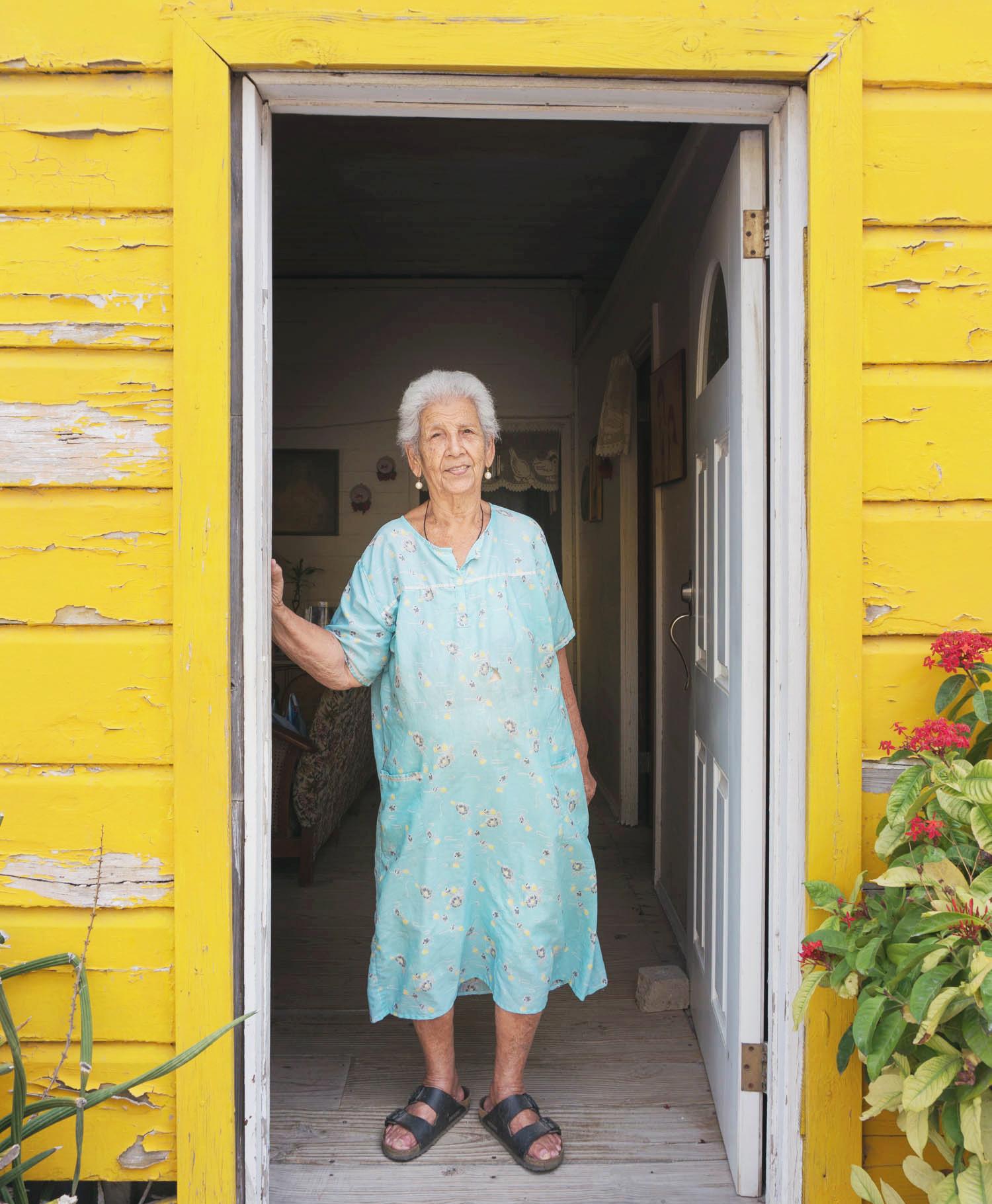 Stephanie i Oranjestad