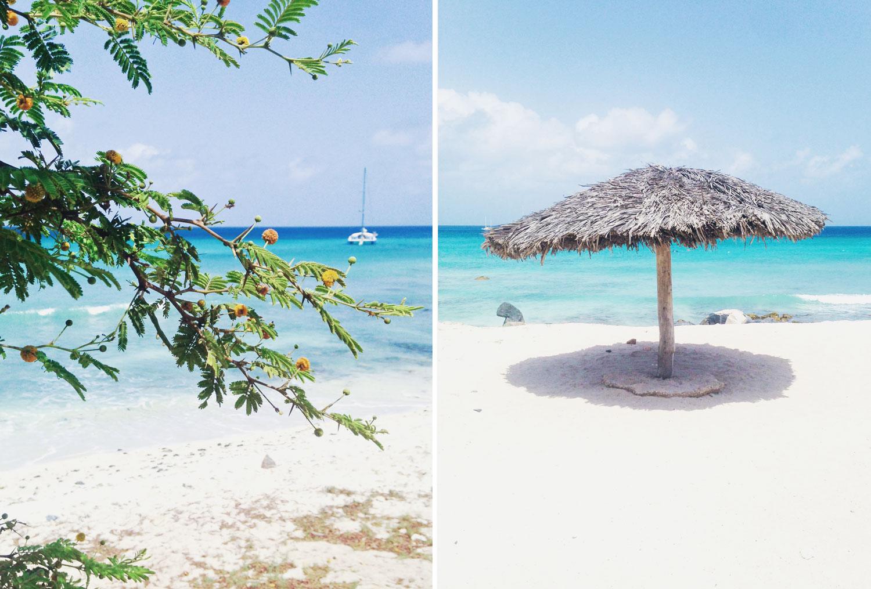 Arubas vackraste stränder - Boca Catalina