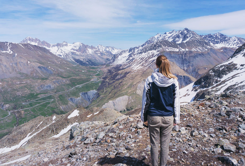 Bergsvandring i Frankrike vid La Meije