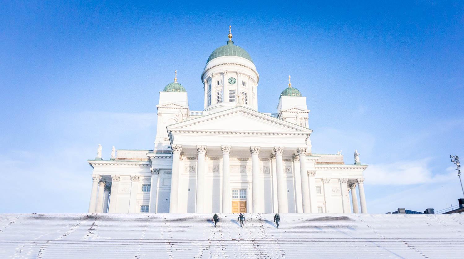 Nordic Bloggers Experience i ett Helsingfors i vinterskrud