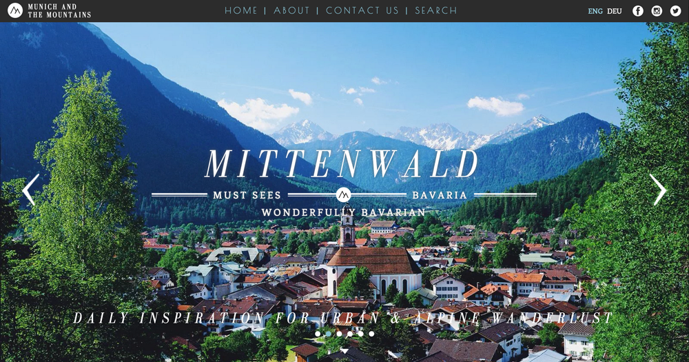 Travel blog Munich and the Mountains