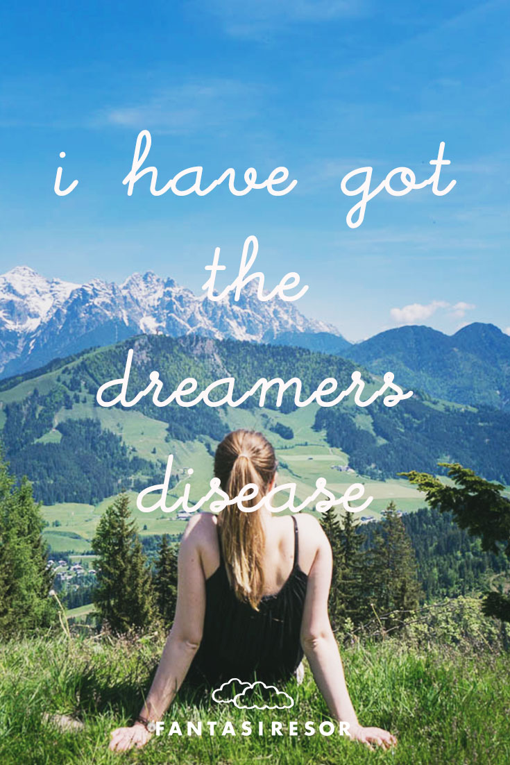 """I have got the dreamers disease"" #travellover #fantasiresor www.fantasiresor.se"