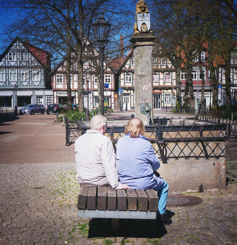 Tysk romantik bland korsvirkeshus