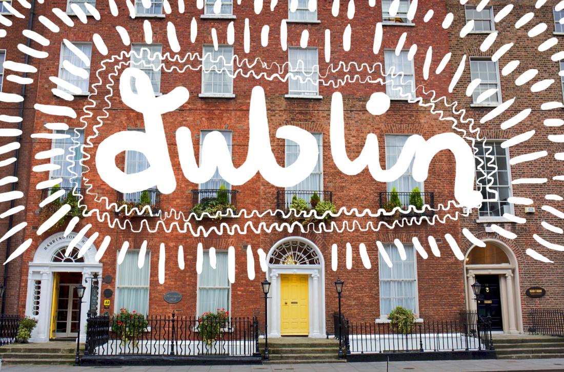Dublin – maten, staden, designen