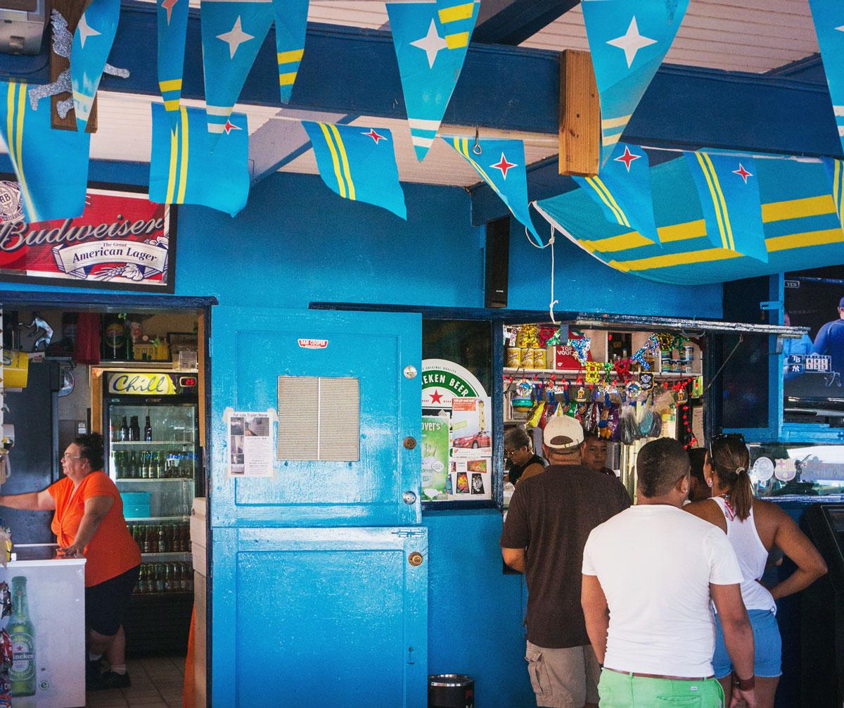 Restauranger på Aruba – Zeerover