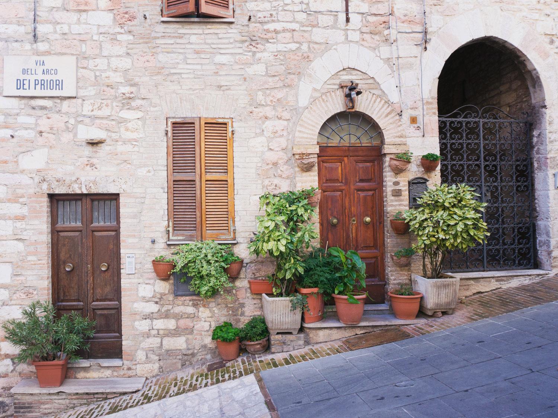 Assisi i Umbrien