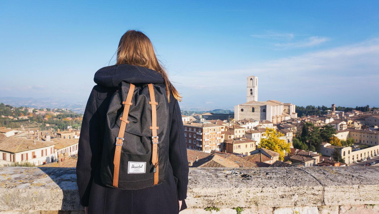 Det är lätt att bli religiös i Assisi