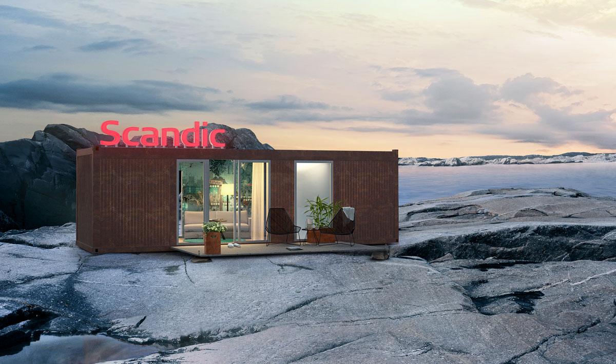 Pressbild från Scandic.