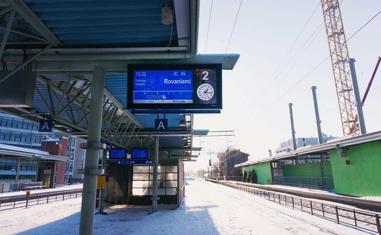 Tågluff i Finland