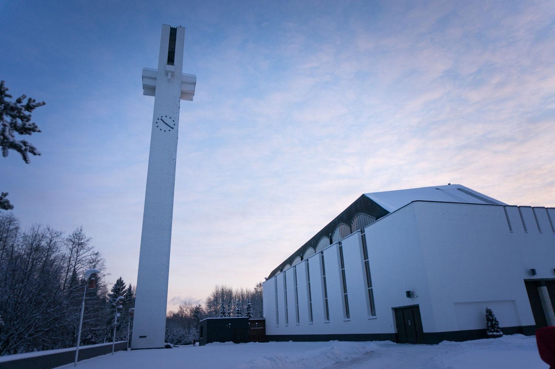 Seinäjoki Alvar Aaltos kyrka