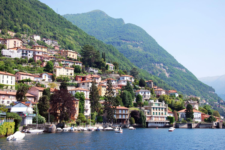Soloweekend till Comosjön (Lago di Como) i norra Italien