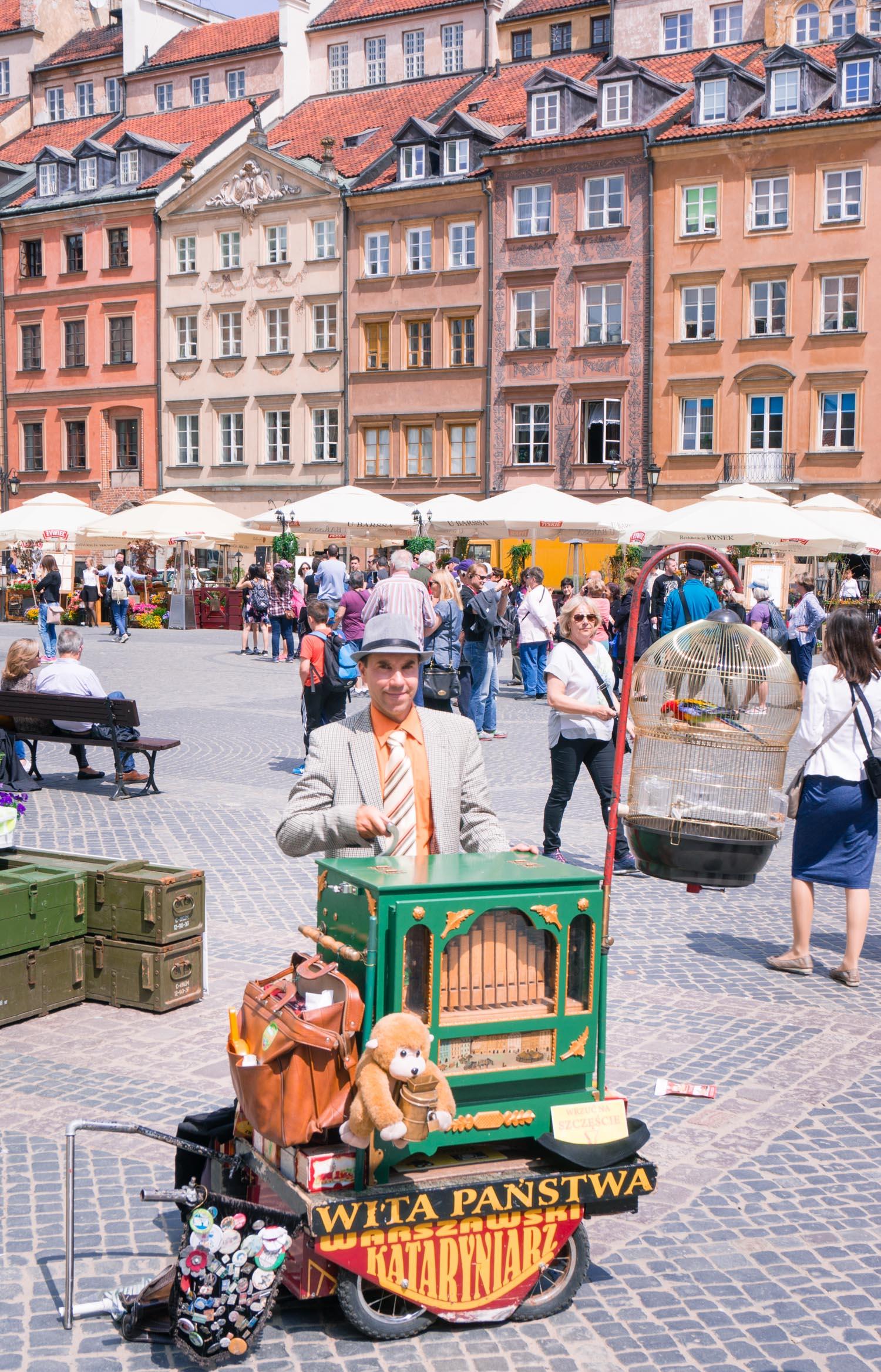 Strosa i gamla stan i Warszawa