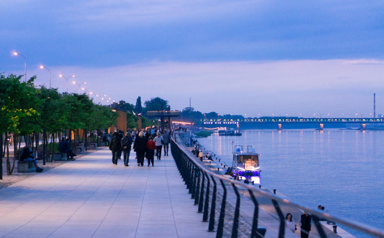 Floden Wisla i Warszawa