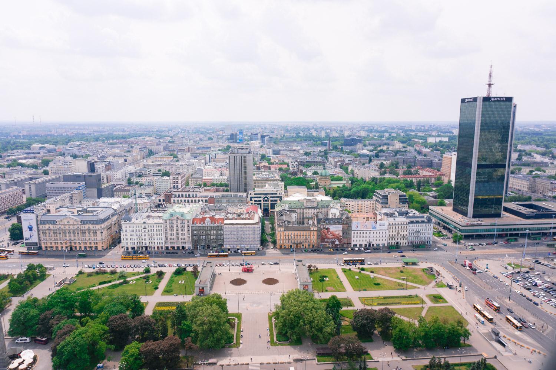 Warszawa i Polen