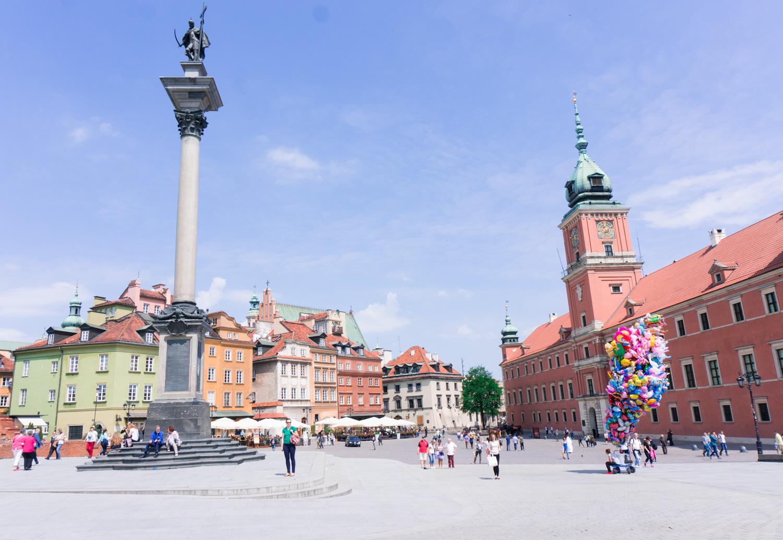Att göra i Warszawa: Strosa i gamla stan