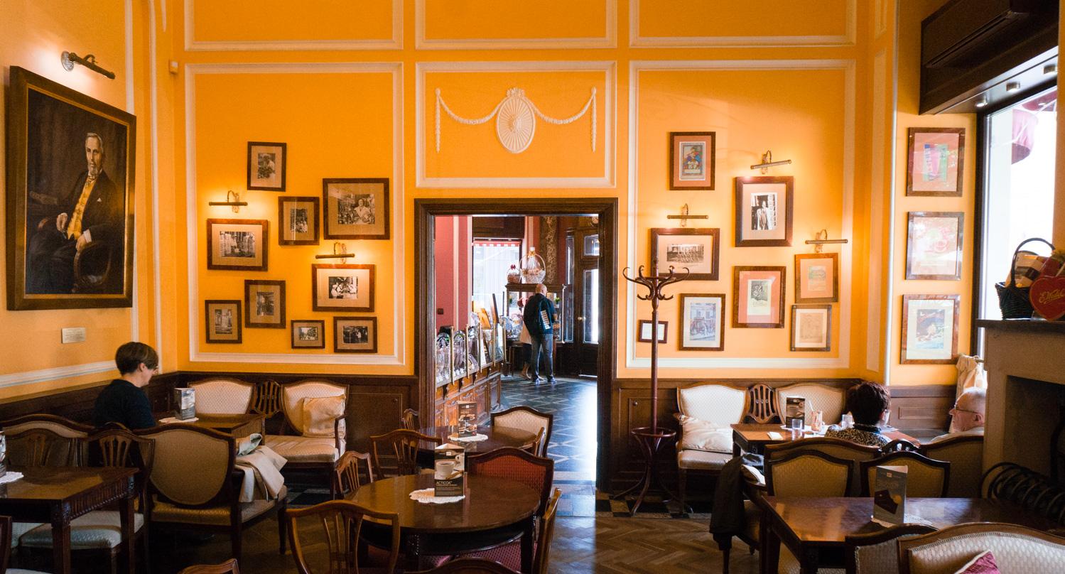 Att göra i Warszawa: Fika på Wedel Café