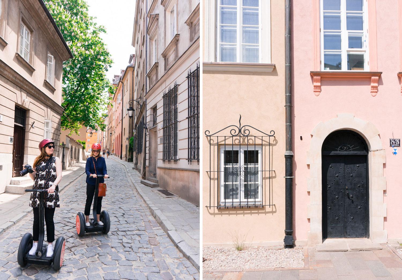 Segway i gamla stan i Warszawa
