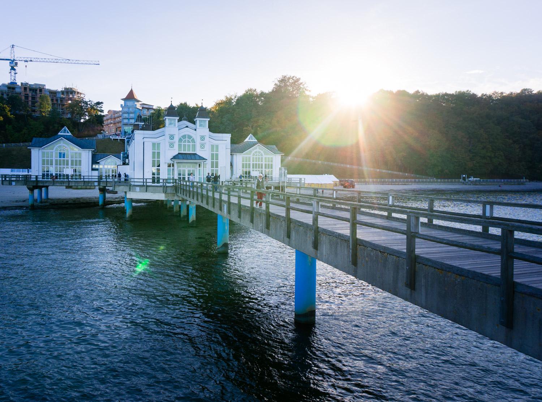 Spetsvillor och bokskogar på semesterön Rügen