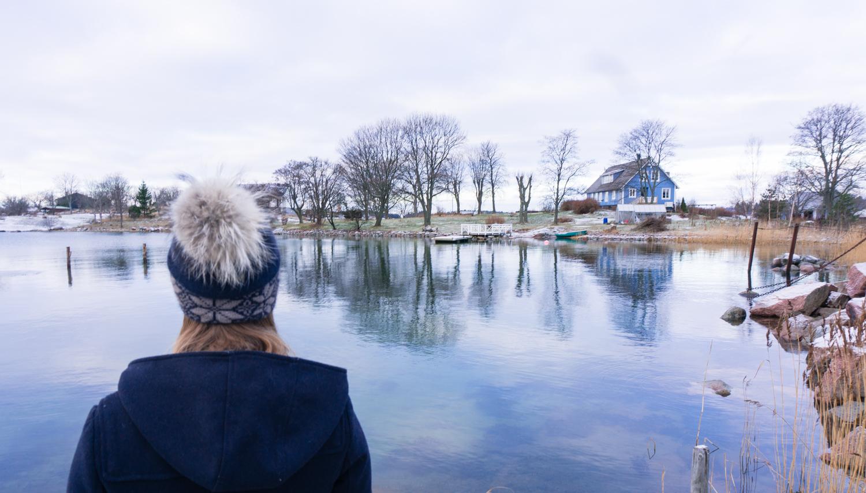 En åländsk vinterweekend