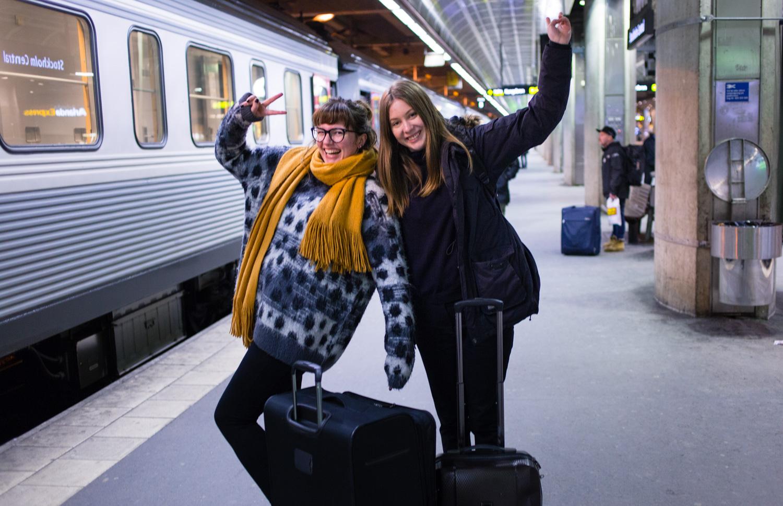 Up and coming: Arctic Circle Train och Lappland