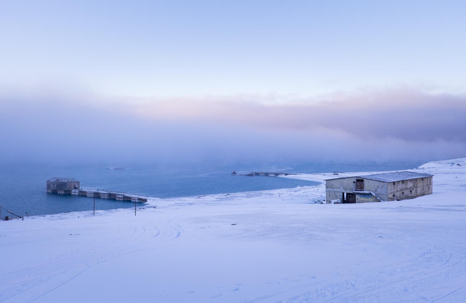 Coles Bay, Spetsbergen på Svalbard