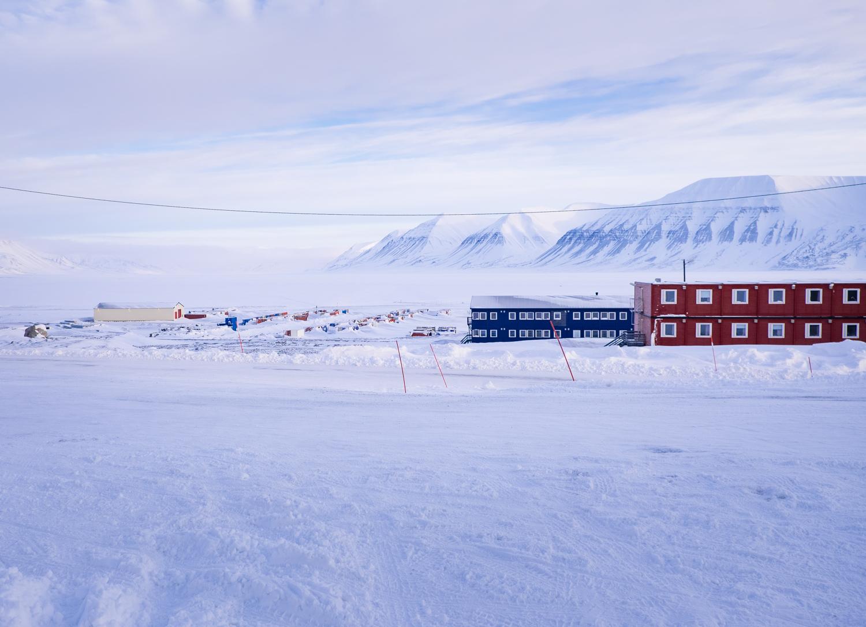 Sveagruva på Svalbard