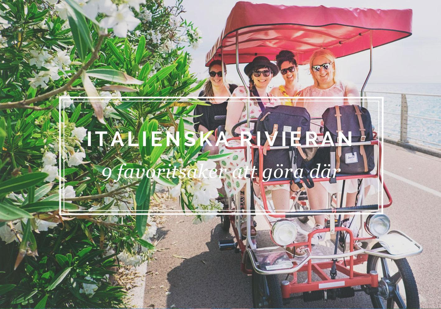 9 saker att göra på Italienska rivieran