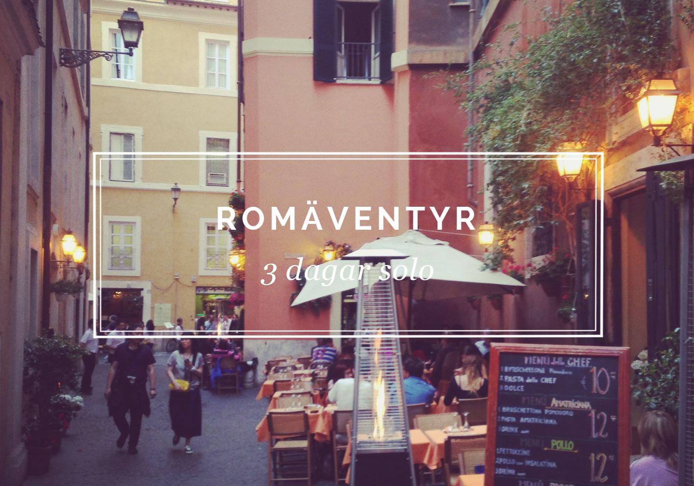 #KLMtop10 och solo i Rom