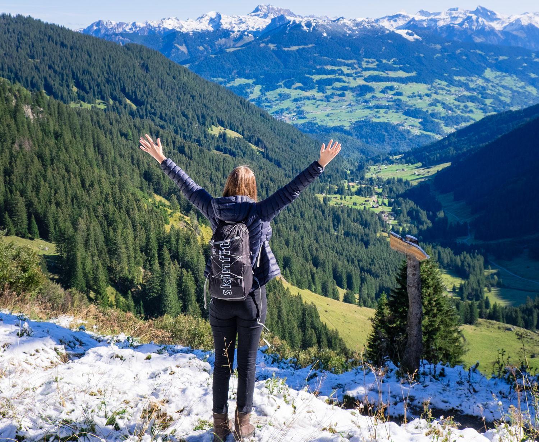 En vandring genom tre årstider i Montafondalen – Vorarlberg, Österrike