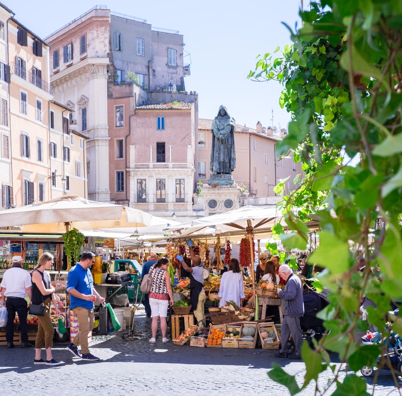 Att göra i Rom: Campo de Fiori