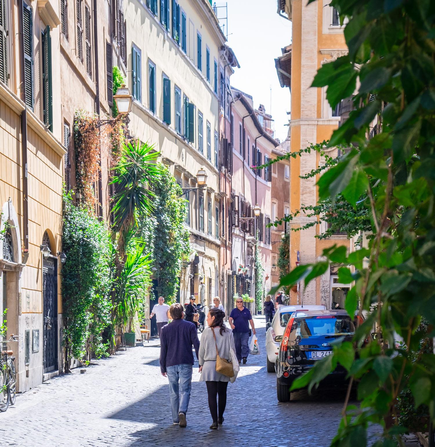 Att göra i Rom: Gå vilse i Trastevere