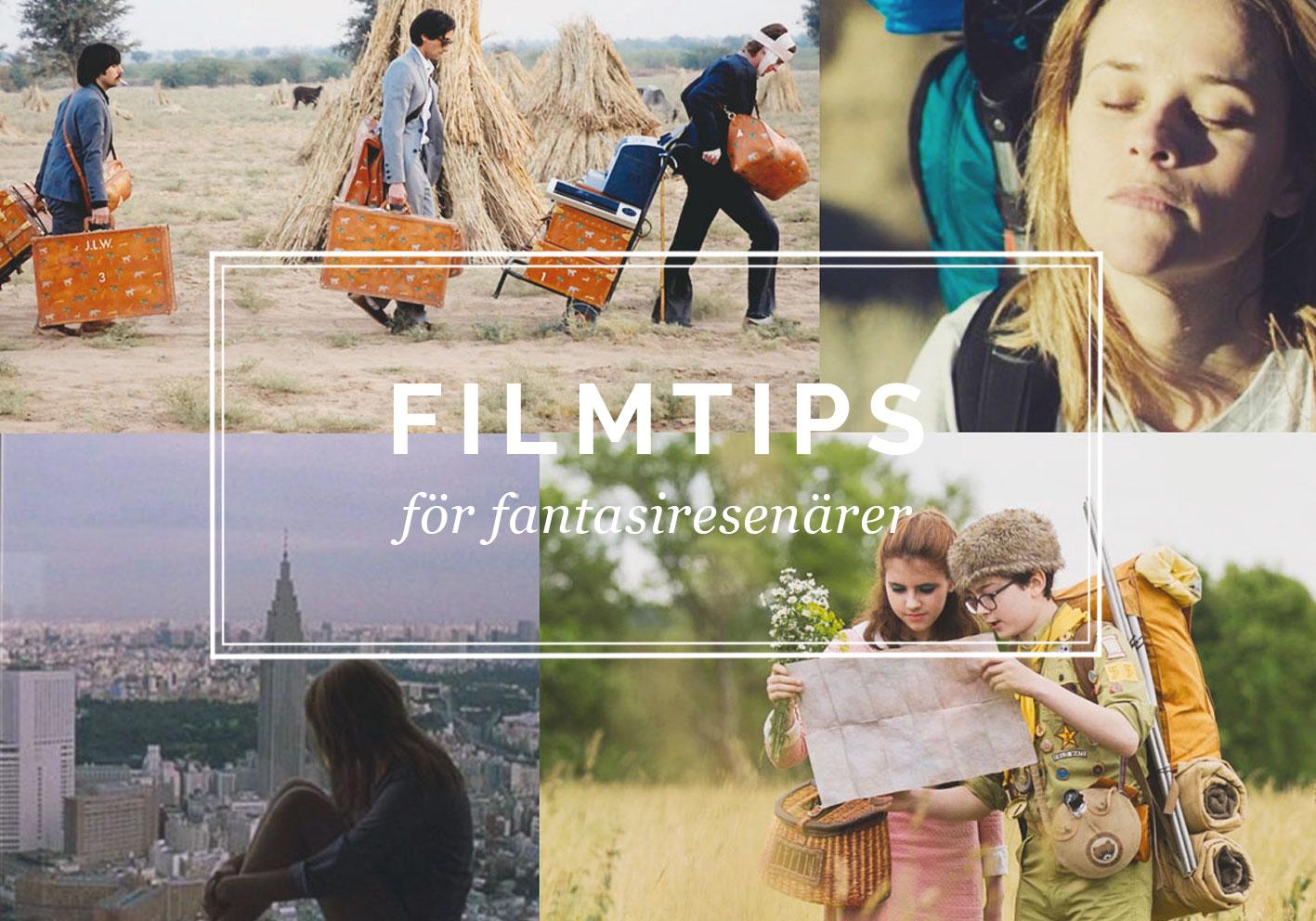 Filmer om resor för fantasiresenärer