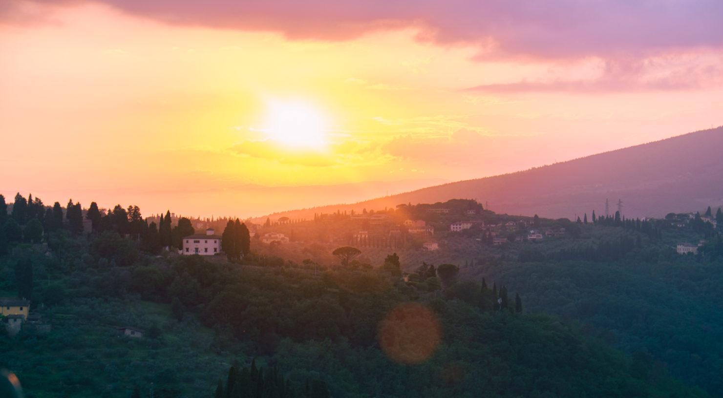 Fiesole Italien