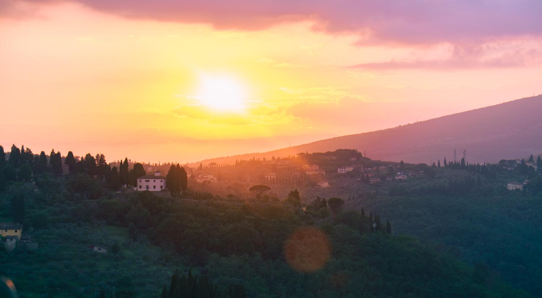 Det som tinar frusna själar i Toscana