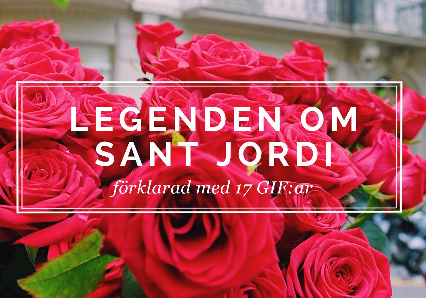 Legenden om Sant Jordi förklarad med gif:ar