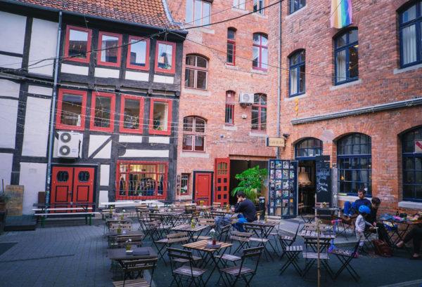 Bakgårdar, studentfängelse och munktoalett i Göttingen