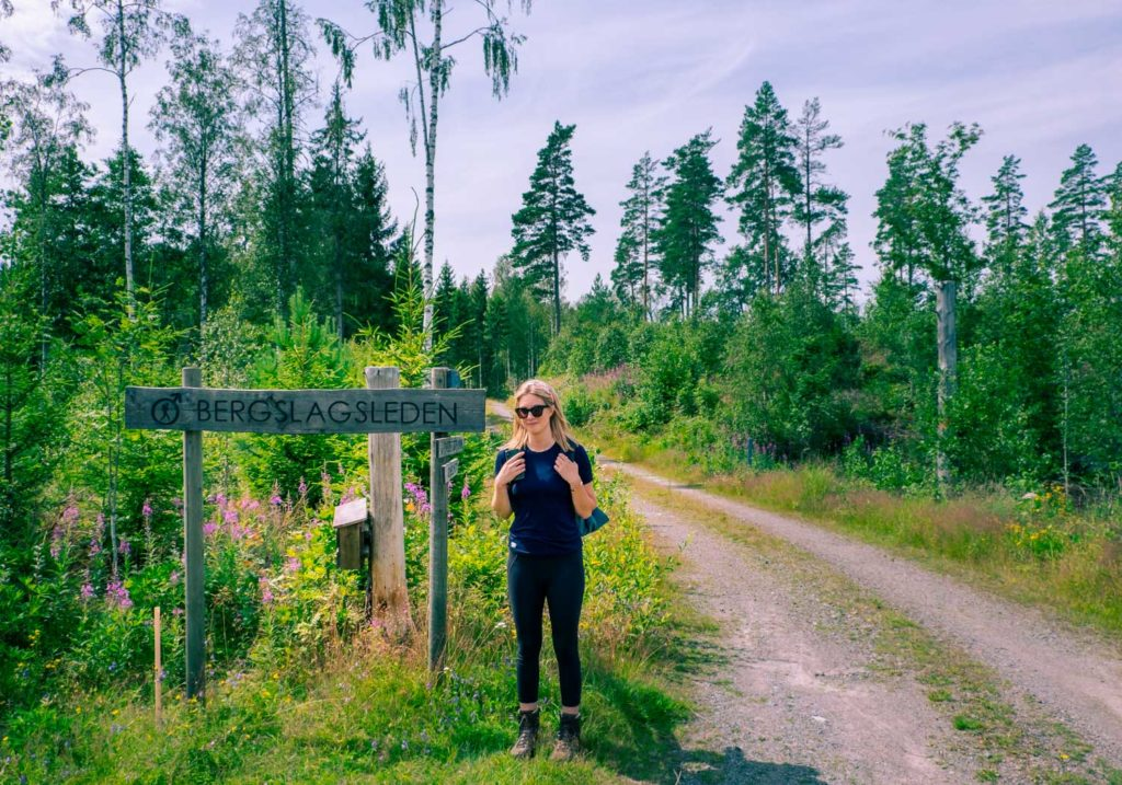 Bergslagsleden - Vandring i Tiveden