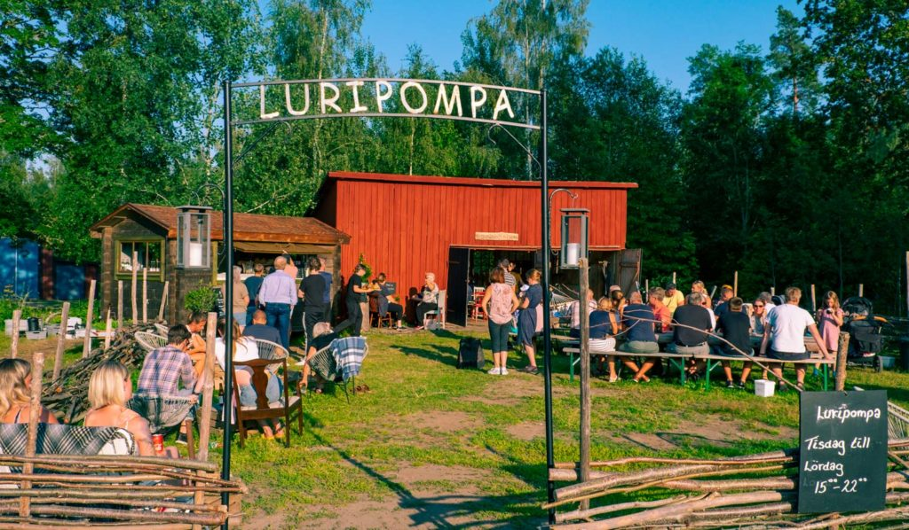 Luripompa i Tivedstorp