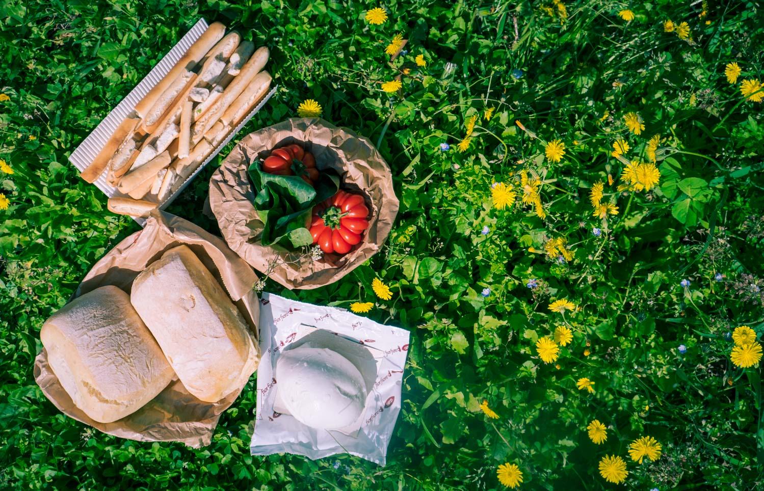 Picknick i Toscana