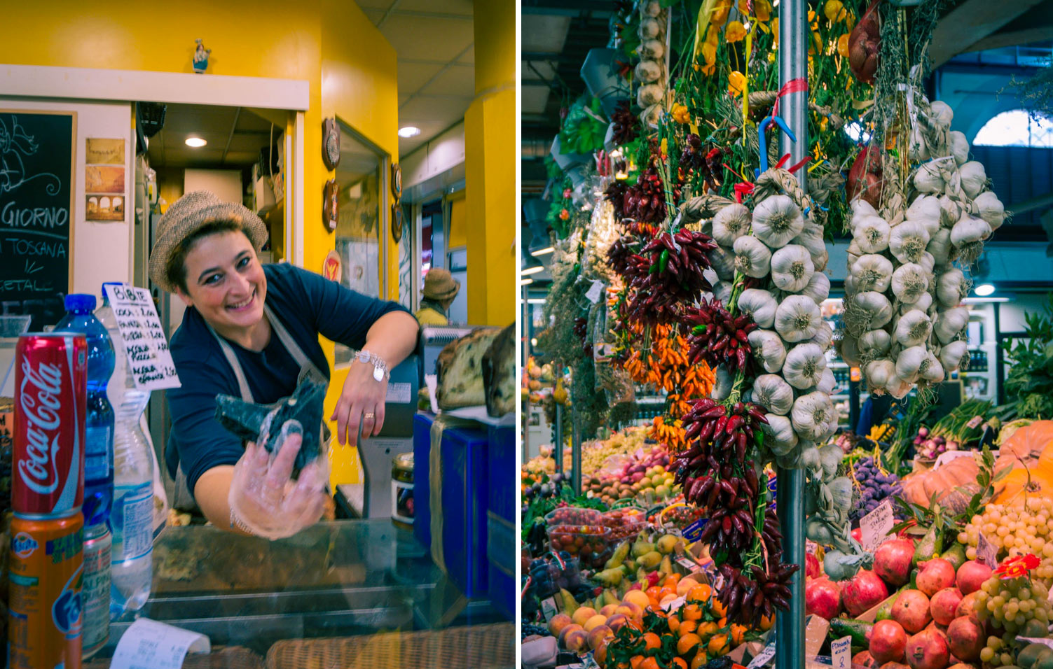 Saluhallen Mercato Centrale i Florens