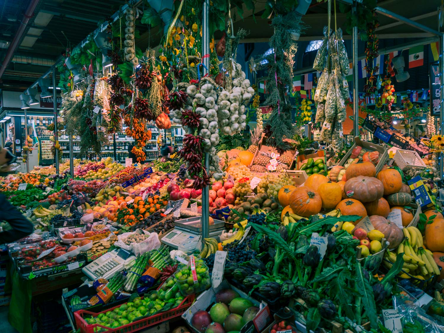 Frukthandlarna i Mercato Centrale