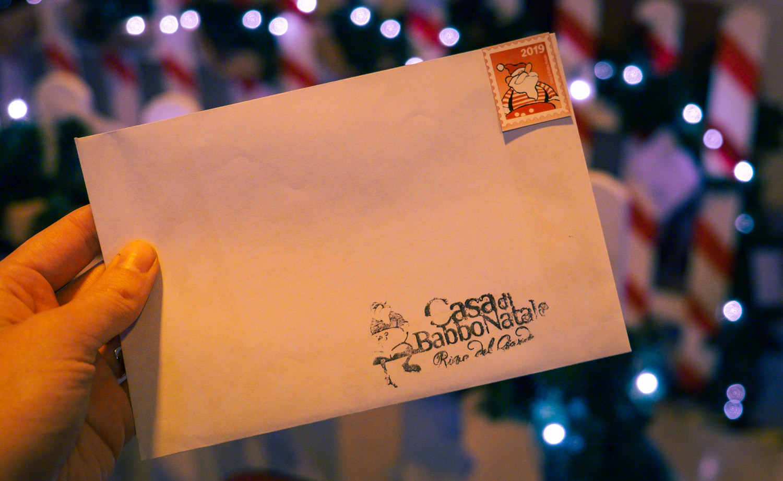 Önskelista till jultomten i Italien