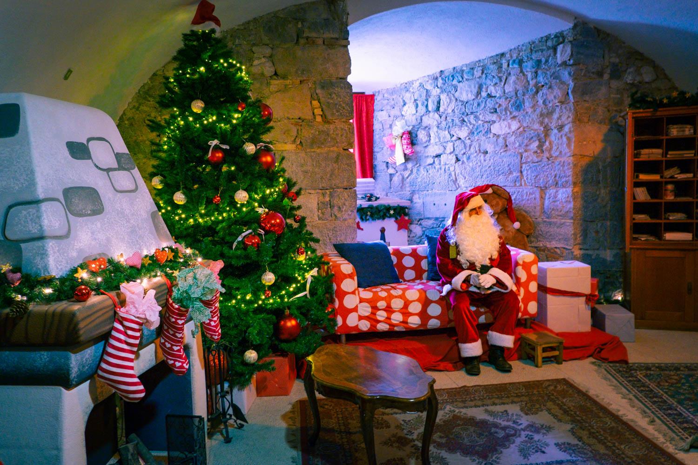 Jultomtens hus i Italien