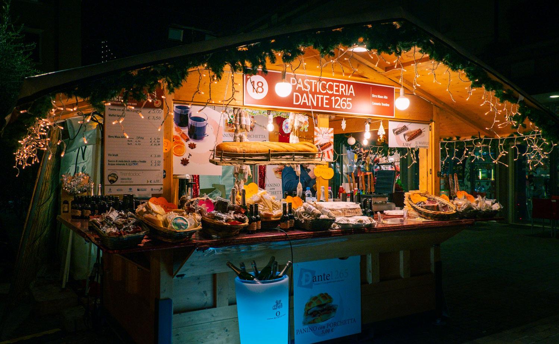 Julmarknad i Riva del Garda Italien