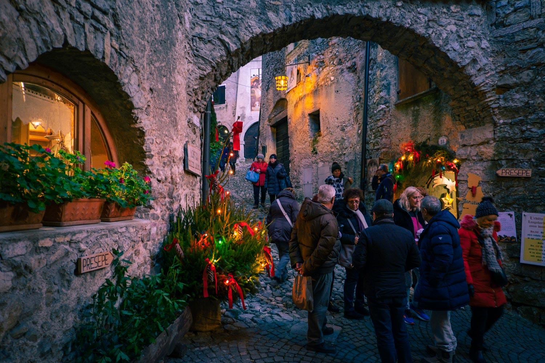 Julmarknad i Canale di Tenno
