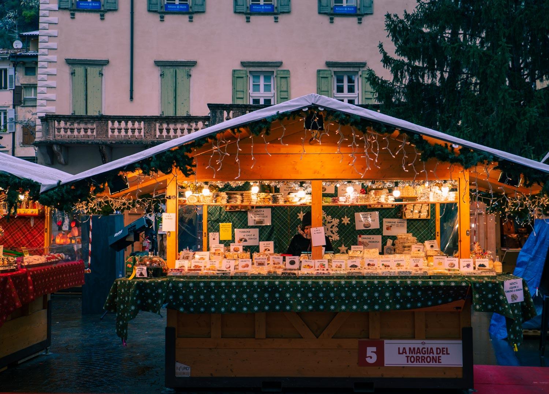 Julmarknad i Italien