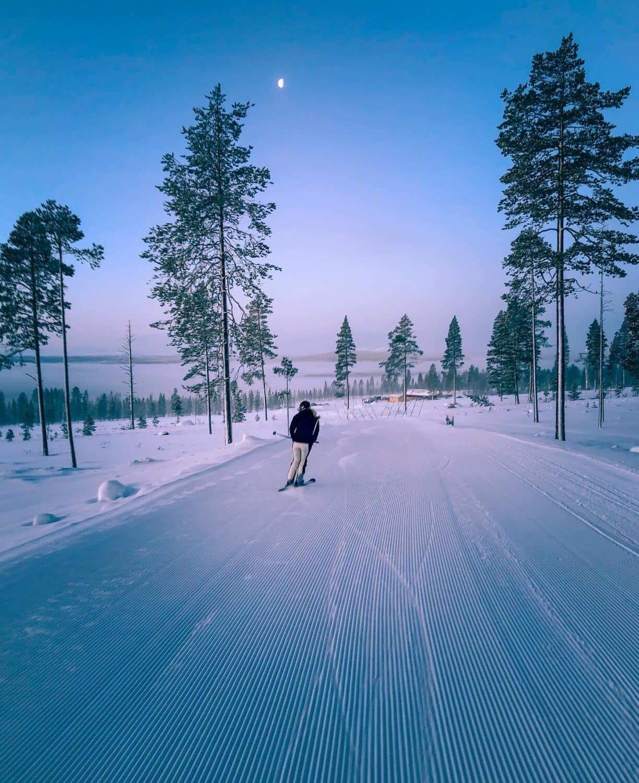 Skidåkning i svenska fjällen december – Idre Himmelfjäll