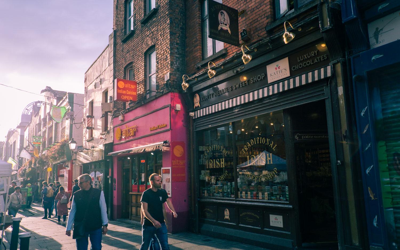 Godisbutiken i Dublin