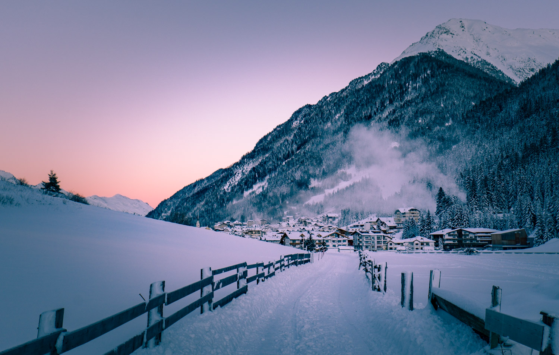 Ischgl – liten alpby i Österrike