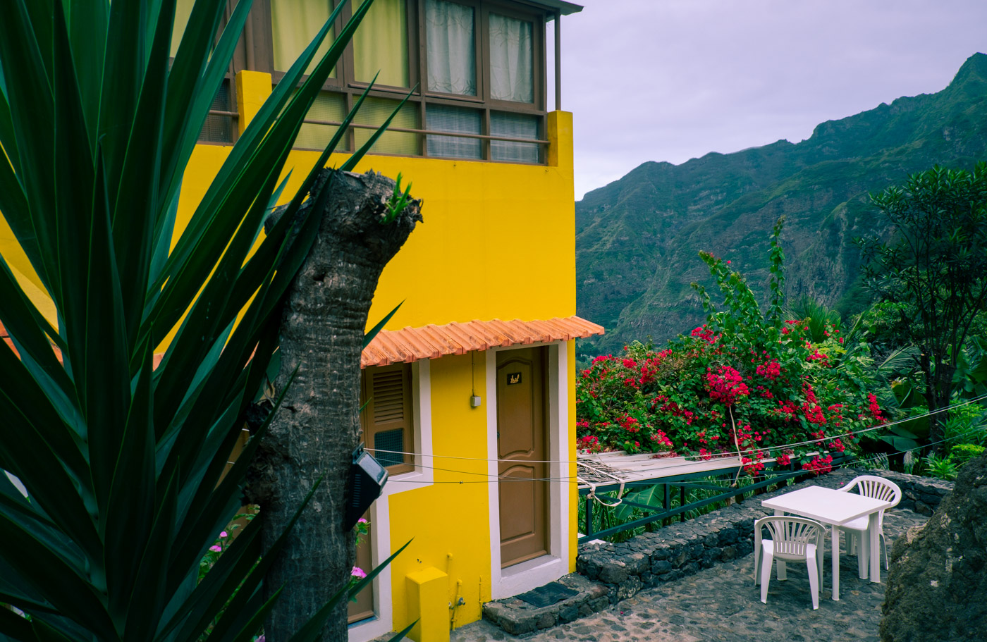 Casa das Ilhas – vårt boende på Santo Antão i Kap Verde
